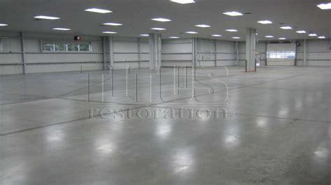 Warehouse Polished Concrete   Hybrid Polished Concrete