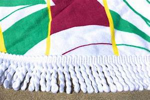Serviette De Plage Ronde Coton : serviette de plage ronde originale tendances du monde ~ Teatrodelosmanantiales.com Idées de Décoration