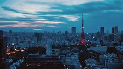 Tokyo Timelapse Japan Animated Town Gifs Tilt