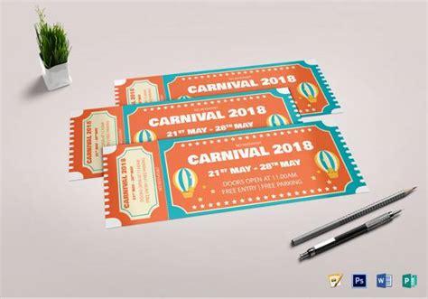 sample amazing event ticket templates