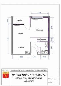 la residence les tamaris ville de meyzieu With plan appartement en ligne
