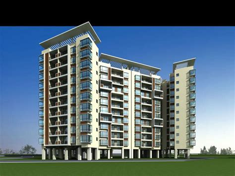 multi storied studio apartments  cgtrader