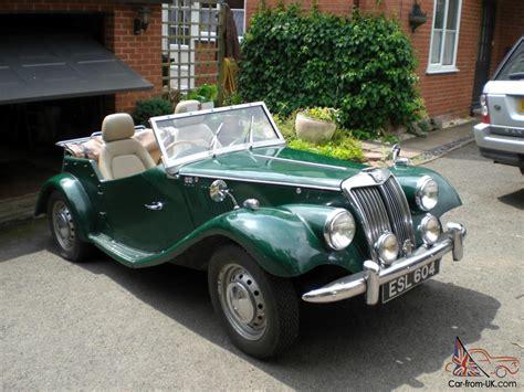 mg tf gentry classic british sports kit car taxed