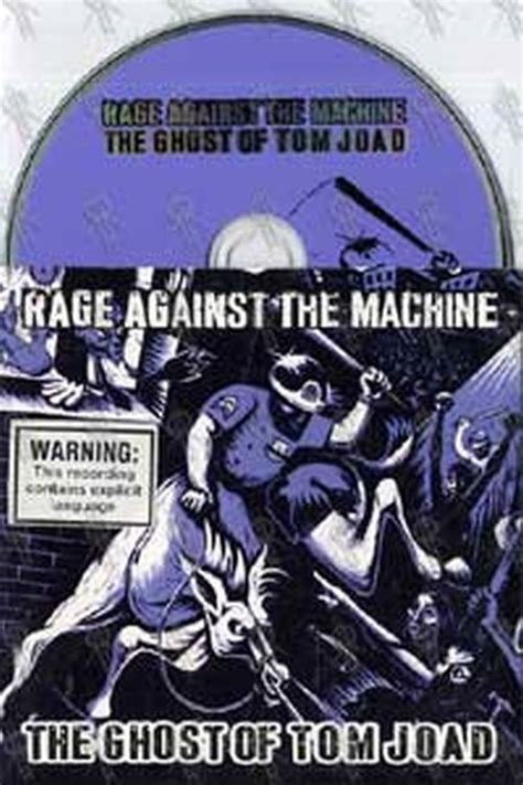 RAGE AGAINST THE MACHINE - The Ghost Of Tom Joad (CD ...