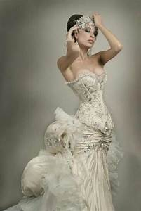Dress steampunk wedding gown 2027926 weddbook for Wedding dress steaming