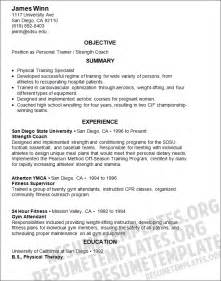 resume objective personal trainer downloadable certified athletic trainer resume template