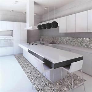 Plaque Décorative Pour Cuisine : plaque imitation carrelage pour cuisine ~ Premium-room.com Idées de Décoration