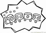 Caboose Coloring Land Transport Printable Coloringpages101 sketch template