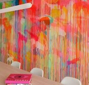 Wand Farbig Streichen Ideen : tolle wandgestaltung mit farbe 100 wand streichen ideen ~ Lizthompson.info Haus und Dekorationen