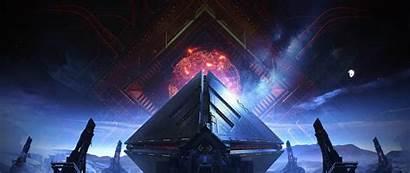 Destiny Warmind Pyramids Widescreen Wide Dual