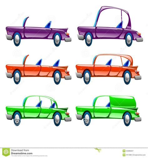 Different Types Of Car Royalty Free Stock Photography