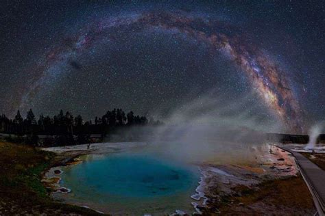 Mesmerizing Photos Capture The Colorful Glow Milky