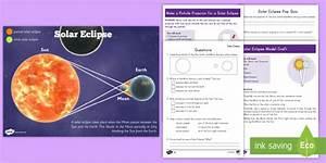 Grade 3-5 Solar Eclipse Activity Pack