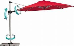 ampelschirm schneider barbados 350cm neigbar kippbar 360 With französischer balkon mit sonnenschirm drehbar neigbar kippbar