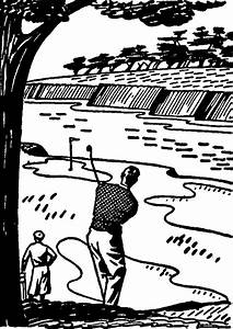 Retro golf images black and white clip art the graphics ...