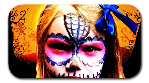 halloween catrina makeup tutorial maedchen maxican sugar
