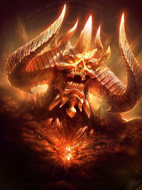 Diablo Image by Diablo Colored Version By Tlierpainter On Deviantart