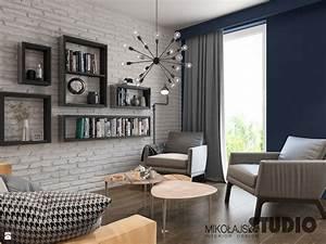 Idees Deco Salon : idee deco salon avec canape marron id e d coration ~ Melissatoandfro.com Idées de Décoration
