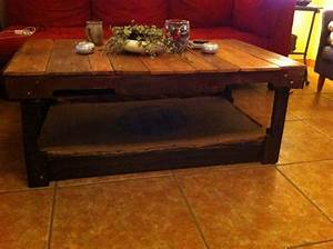 pallet coffee table with a epoxy resin coated coffee With epoxy resin coffee table