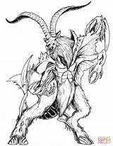 Coloring Death Mythical Creatures Pages Printable Blackened Drawings Detailed Creature Mythology Dark Fantasy Template Dragons Designlooter Version Drawing Compatible Ipad sketch template