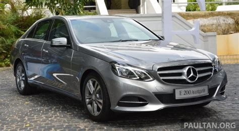mercedes e klasse w212 facelift w212 mercedes e class facelift launched in malaysia rm367k 406k