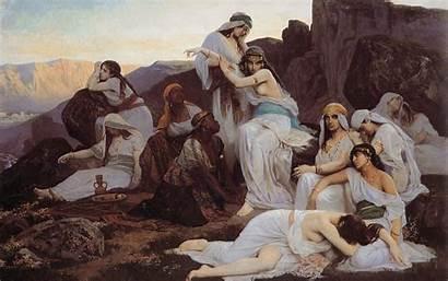Raphaelite Pre Paintings Painting Masterpieces Oil Western