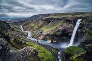Haifoss Waterfall Iceland