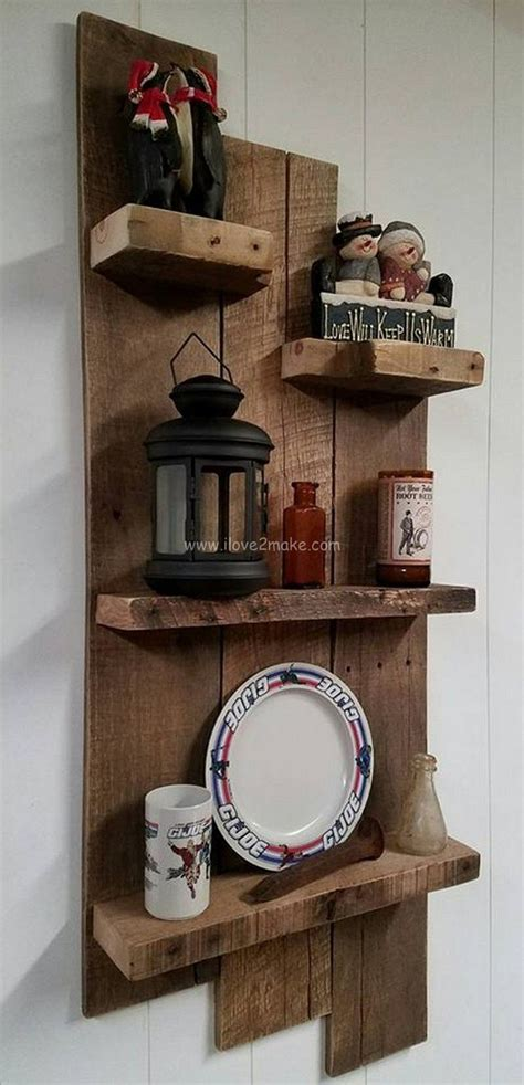 pallet shelf design  imagenes estantes decorativos