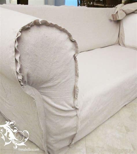 how to make slipcovers for sofa drop cloth sofa slipcover slipcovered goodness pinterest