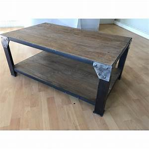 Table Basse Fly Occasion : table basse style industriel pas cher mobilier design d coration d 39 int rieur ~ Teatrodelosmanantiales.com Idées de Décoration