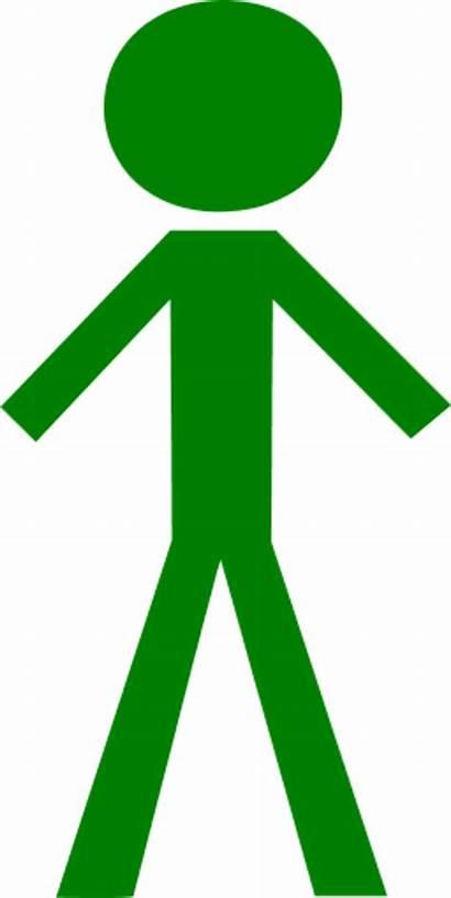 Stick Figure Clipart Clip Person Vector Male