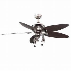 Westinghouse Xavier Ii 52 In  Brushed Nickel Ceiling Fan-7234265