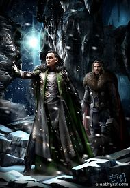 Thor and Loki Fan Art