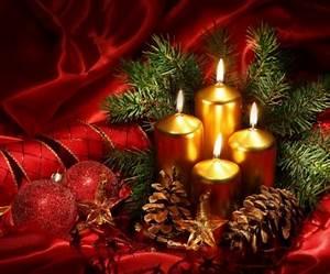 Weihnachtsdeko In Rot Fr Eine Romantische Feststimmung