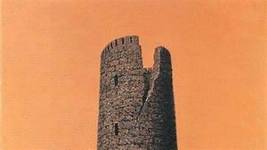 Traditional Art Rene Magritte Orange Background Belgian