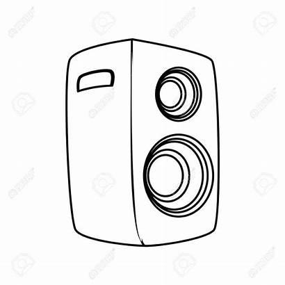 Drawing Speaker Microphone Notes Getdrawings Technical Crop