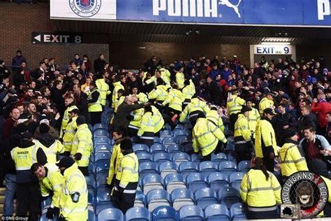 rangers hearts  fans  troubles