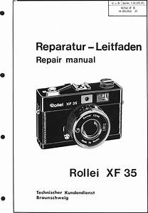 Rollei Xf 35 Repair Manual Xf35
