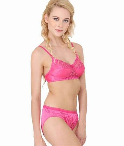 Satin Bra Pink Panty Snapdeal Lace Bridal