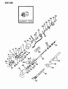 Chrysler Lebaron Bolt  Bolt  Lock  Column  Steering  Tilt