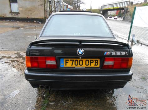1989 f bmw e30 325i sport m tech ii coupe black manual classic rare mot