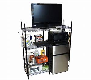 Mini Refrigerator And Microwave Stand – BestMicrowave
