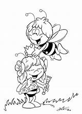 Bee Coloring Pages Maya Adult Colouring Cute Printable Anycoloring Print Friend sketch template