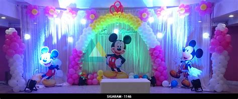 themed birthday celebration  ram international hotel