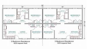 3 bedroom duplex floor plans simple 3 bedroom house plans for A 3bedroom simple floor plan