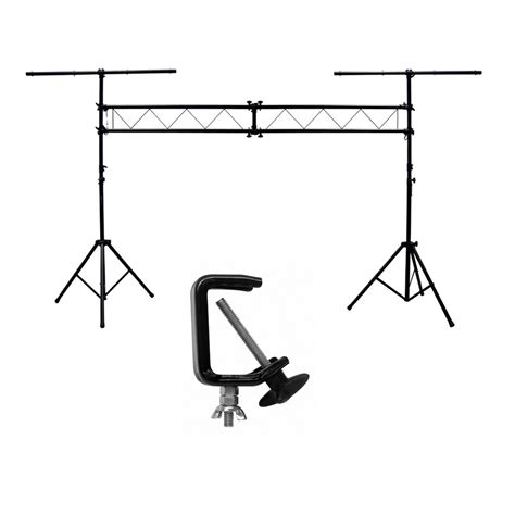 dj portable light truss fixture tripod t bar lighting