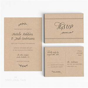 Printable wedding invitation suite rustic wedding for Wedding invitation a4 size