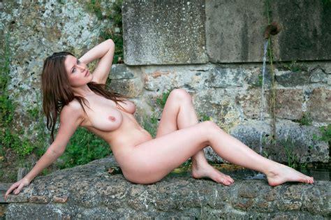 Wallpaper Babe Brunette Nude Naked Girls Sexy Amateur Model Marjana A Boobs Marjana