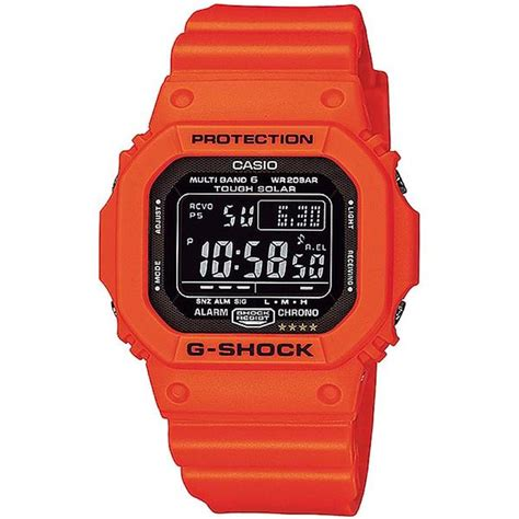 casio g shock rescue orange series digital gw m5610mr 4jf watchain