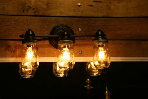 edison bulb vanity light jar vanity light wall sconce 3 jar bathroom
